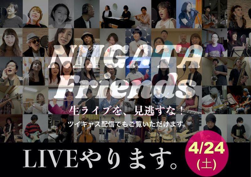 NIIGATA Friends リアルライブメイン画像